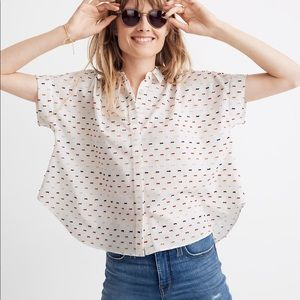 NWT Madewell Plus Size Button Up